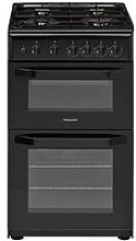 Hotpoint Hd5G00Kcb 50Cm Wide Gas Cooker With Grill
