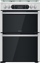Hotpoint HDM67G8C2CX/UK Dual Fuel Cooker