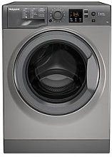 Hotpoint Nswm743Ugg 7Kg Load, 1400 Spin Washing