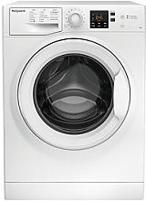 Hotpoint Nswm743Uw 7Kg Load, 1400 Spin Washing