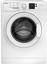 Hotpoint Nswm843Cwukn 8Kg Load, 1400 Spin Washing