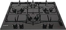 Hotpoint PCN642HBK Gas Hob - Black
