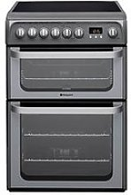 Hotpoint Ultima Hue61Gs 60Cm Double Oven Electric