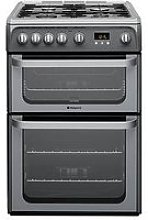 Hotpoint Ultima Hug61G 60Cm Double Oven Gas Cooker