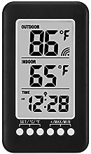 Houkiper Digital Indoor Outdoor Thermometer LCD