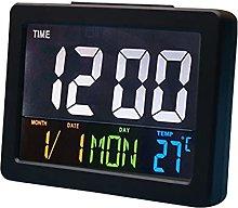 Houkiper Digital LED Bedside Clock, Large Screen
