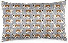 Houlipeng Rectangle Standard Size Zippered Bedding