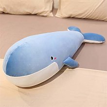 HOUMEL Blue And Black Whale Pillows Sealed Pillows