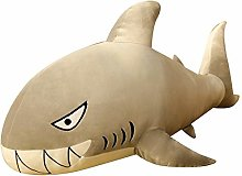 HOUMEL Cute Stuffed Plush Shark Toy Big Navy Fish