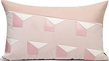 HOUMEL Decorative Cushion Cover Pink Diamond