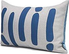 HOUMEL Decorative Waist Pillow 30X50cm Gray Dark