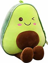 HOUMEL Giant Avocado Plush Toy, A 30cm Avocado