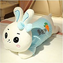 HOUMEL Giant Bunny Plush Toy, Cute Baby Pillow
