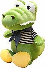 HOUMEL Giant Crocodile Plush Toy, Cute Baby Pillow