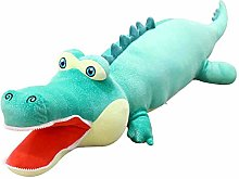 HOUMEL Giant Crocodile Plush Toy green Pillow