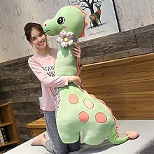 HOUMEL Giant Dinosaur Plush Toy, Cute Baby Pillow