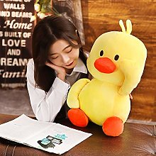 HOUMEL Giant Duck Plush Toy, Cute Baby Pillow