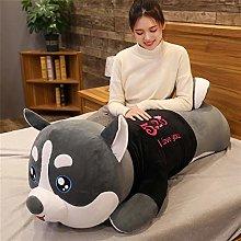 HOUMEL Giant Husky Plush Cushion Shiba Inu Dog