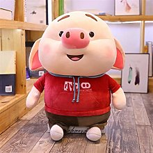 HOUMEL Giant pig Plush Toy, Cute Baby Pillow