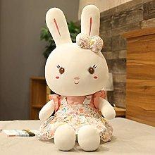 HOUMEL Giant Rabbit Princess Plush Toy, Cute Baby
