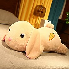 HOUMEL Giant Rabbits Plush Toy, Cute Bunny With