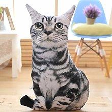 HOUMEL Giant Simulation Cat Plush Toy, Cute Baby