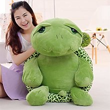 HOUMEL Giant tortoise Plush Toy, Cute Baby Pillow