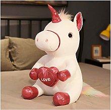 HOUMEL Giant Unicorn Plush Toy, Home Decoration