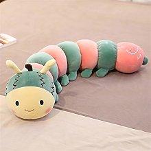 HOUMEL Green caterpillar shape cushion Cot Bumper