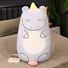 HOUMEL Unicorn Pillow Sleeping Cushion Back Pillow
