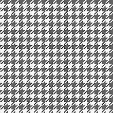 Houndstooth Wallpaper Black White Geometric Modern