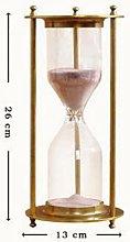 Hourglass 1PC Retro Bronze Timing Hourglass Home
