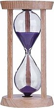 Hourglass Timer 3 Minutes Wooden Hourglass Timer