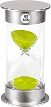 Hourglass Timer 60 Minutes, Plastic 1 Hour Sand