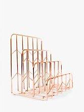 House by John Lewis Letter Rack, Rose Gold