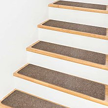 HOUSE DAY Carpet Stair Treads Non-Slip Indoor