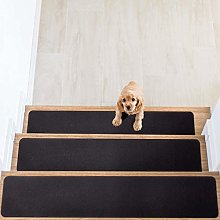 HOUSE DAY Non Slip Carpet Stair Treads, Set of 7,