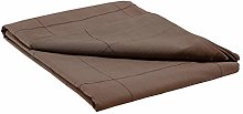 House Doctor 211200303 Tablecloth, Virra, Brown,
