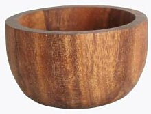 House Doctor - Acacia Wood Bowl Or Egg Cup