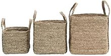 House Doctor - Basket 30x30xh26cm with Two Handles