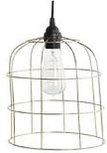 House Doctor - Brass Mesh Lampshade
