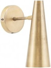 House Doctor - Gold Wall Lamp - gold - Gold/Gold