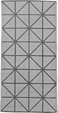 House Doctor - Grey Diamond Print Rug