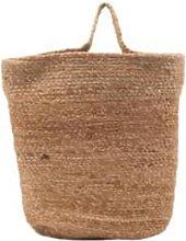 House Doctor - Medium Hanging Jute Basket - jute |
