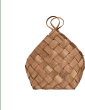 House Doctor - Medium Woven Pinetree Conical