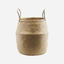 House Doctor - Natural Seaweed Basket with Two