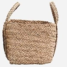 House Doctor - Rattan Reed Seagrass Storage Basket