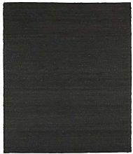House Doctor Rug, Hempi, Black, l: 300 cm, w: 200