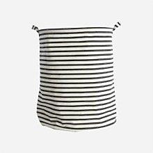 House Doctor - Striped Laundry Storage Basket