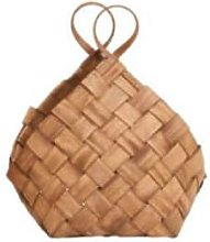 House Doctor - Woven Pinetree Conical Basket with